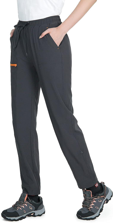 Store Wespornow Ranking TOP16 Women's-Hiking Pants Cargo-Capris-Outdoor-Pants Quick