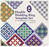Marti Michell Double Wedding Ring Template