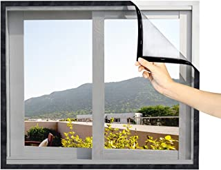 DIY Window Screen 48 x 99 in Fit Windows UP to 46