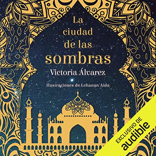 Diseño de la portada del título Ciudad de las Sombras