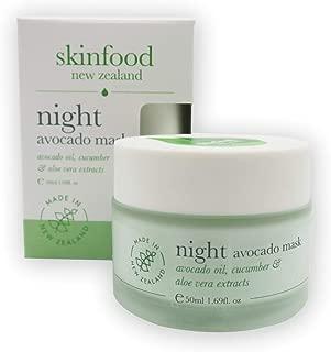 Skinfood Night Avocado Mask Nurtures Hydrates and Replenishes Skin Overnight