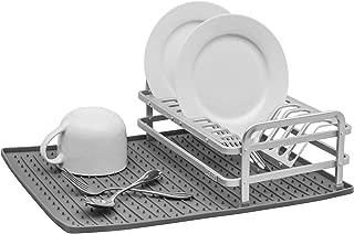 ta da TDPRSMDG Dish Rack, One Size, Dark Grey
