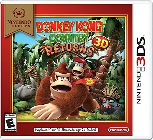 Donkey Kong Country Returns 3D-Nla by Nintendo of America