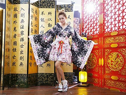 lightmhy Kostüme für Erwachsene Bekleidung & Schuhe für Modepuppen Cosplay Anime kostüm Maid kostüm Prinzessin Kleid Bild Farbe m