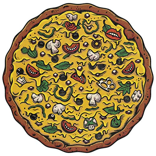 Stellar Factory Pizza Puzzles: Veggie Supreme - A Challenging & Cooperative 550-piece Jigsaw Puzzle