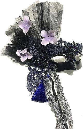 barato TONGSH Mascarada Máscara de Carnaval Máscara de de de Carnaval para mujer Fiesta Veneciana Hecha a Mano Fiesta de Baile  Tienda de moda y compras online.
