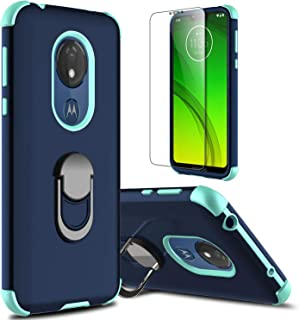 lovpec Moto G7 Power Case, Moto G7 Supra Case with Soft TPU Screen Protector, Moto G7..