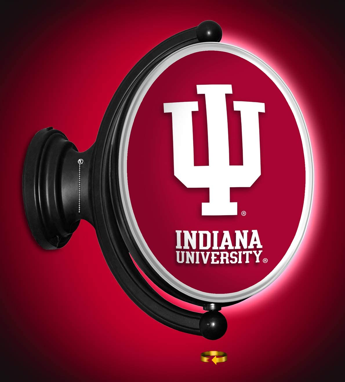 Shop Sales Grimm IU Indiana University Sign Rotating Some reservation LED Wall Featurin