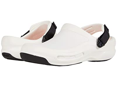 Crocs Work Bistro Pro LiteRide Clog (White) Clog/Mule Shoes