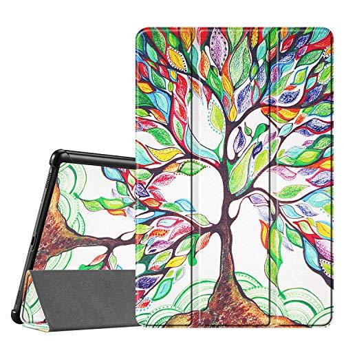 FINTIE Custodia per Samsung Galaxy Tab S5e 2019 10.5 - Ultra Sottile Leggero Cover Protettiva Case per Samsung Galaxy Tab S5e 10.5 T720/T725 2019, Love Tree