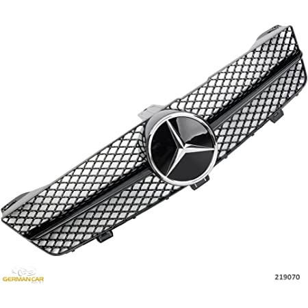 Mercedes W219 C219 Cls Diamond Grille Amg Look 2008 Ab Auto