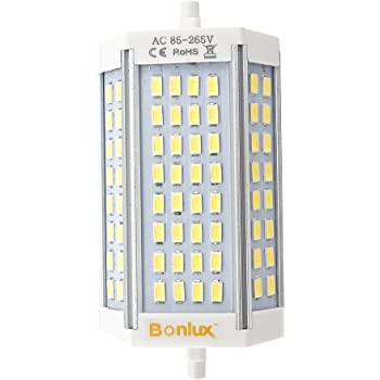 R7s Led 189mm 50w Non Dimmable Daylight White 6000k Type J Light Bulb J189 500w Double Ended Halogen Bulb Replacement 4700lm Ac85 265v By Rowrun Amazon Com