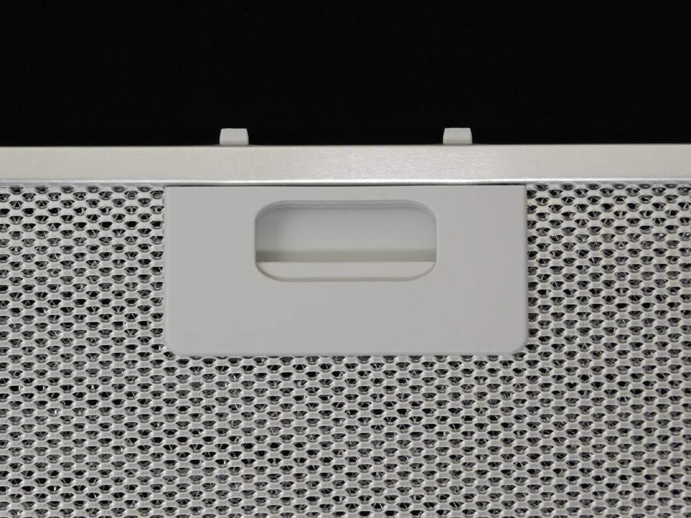 Filtro aluminio para campanas extractoras H/élices mm.458/X 177/x 9