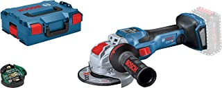 Bosch Professional 06019H6500 GWX 18V-15 + GCY 30-4 Angle Grinders