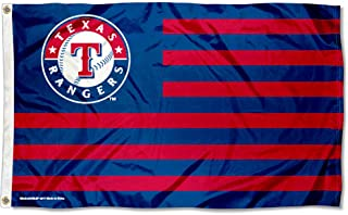 WinCraft MLB Texas Rangers Nation Flag 3x5 Banner