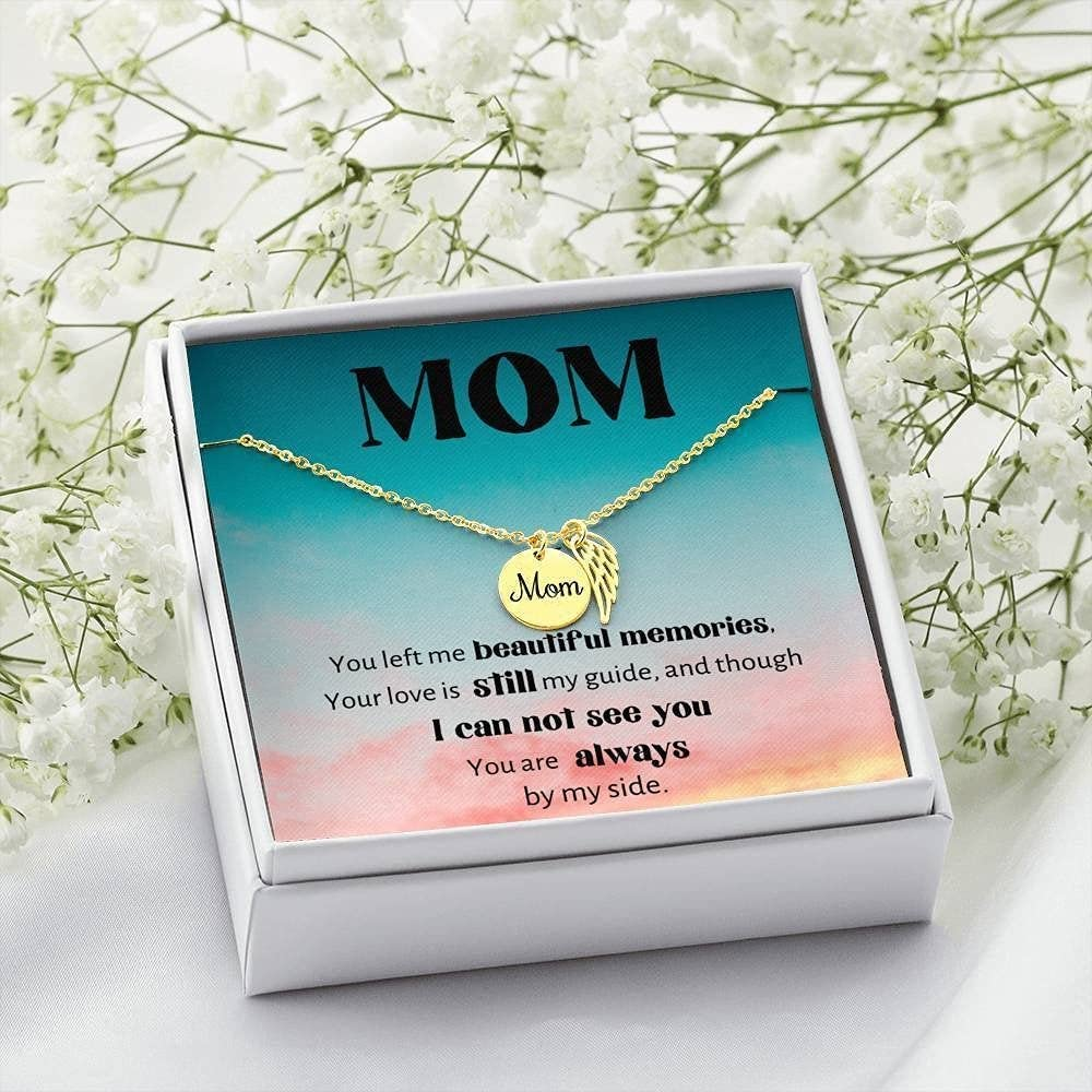 NEW before selling ☆ Loss of Mom SEAL limited product Gift Nec Remembrance Sympathy Grief