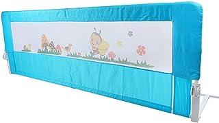 Baby-Bettschutz 180 cm tragbares Bett faltbar Kleinkind Sicherheit Bettgitter Kinder Schlafschutz Faltbar Baby Bettgitter Schutz Schutz Guards 180 x 64 cm