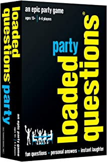 Loaded Questions Party - An Epic Party Game of Fun Questions, Personal Answers and Instant Laughter