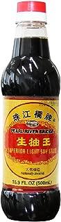 Soy Sauce Pearl River Bridge Superior Light ,16.9-Ounce Plastic Bottles