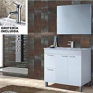 Hogar Decora Conjunto Mueble Baño Completo Oviedo con
