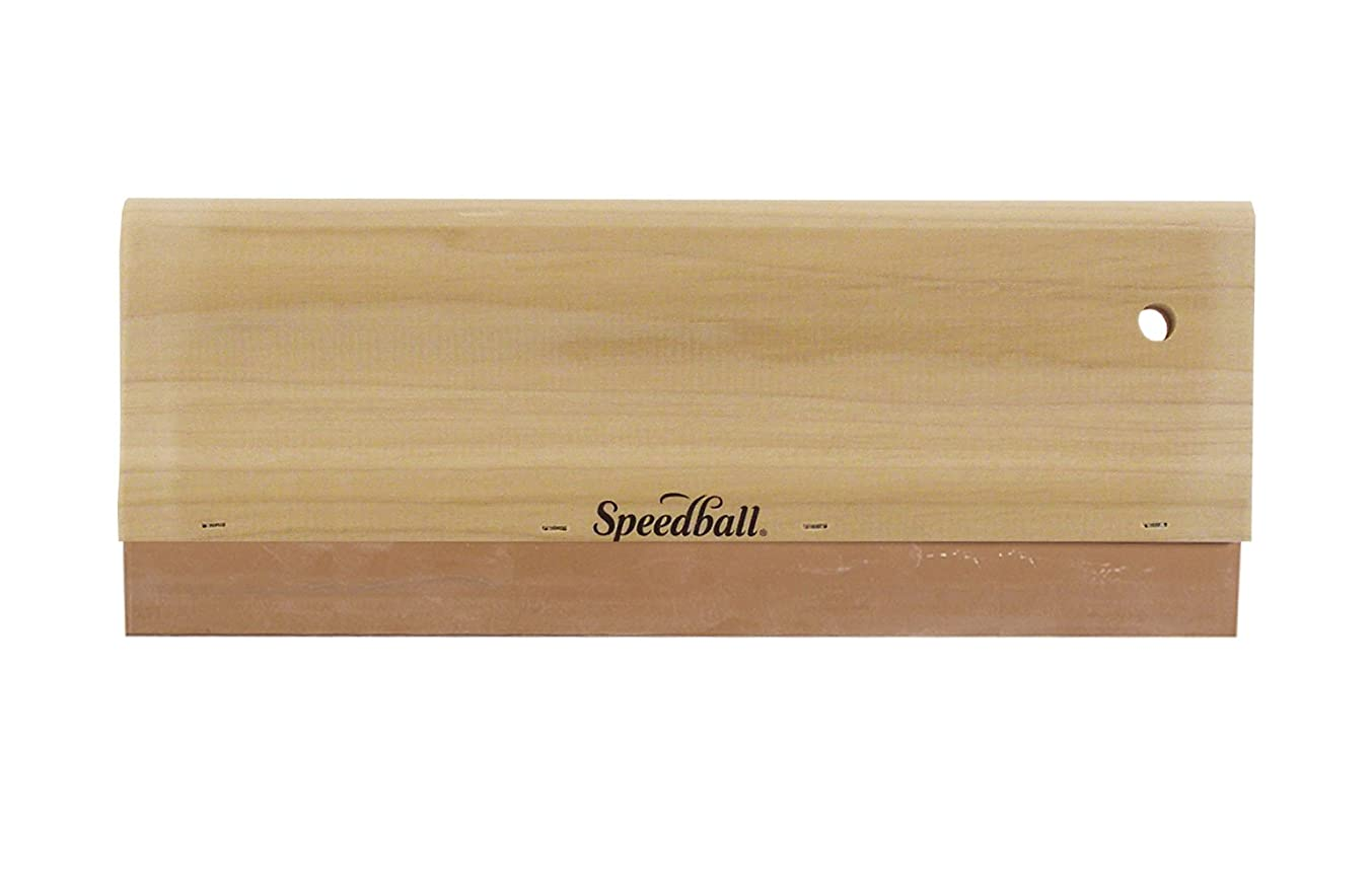 Speedball Graphic Squeegee, Neoprene Blade 70 Durometer, 14 Inches