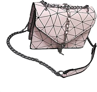 New Trend Casual Fashion Handbag Shoulder Slung Small Handbag. jszzz (Color : Pink)