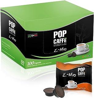 """100 capsules compatibles """"Lavazza a modo mio"""", Mèlange 1 intense POP CAFFE'"""