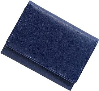 極小財布 バッファローレザー バイカラー BECKER(ベッカー) 日本製 ミニ財布/三つ折り