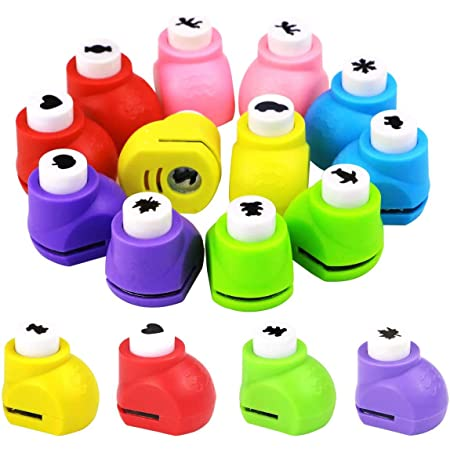 Mini Scrapbook Handmade Punches School /& Office Supplies Hole Puncher StudentKid DIY Paper Craft Punch Card Cutter Gift for HimHer
