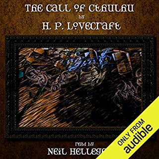 The Call of Cthulhu audiobook cover art