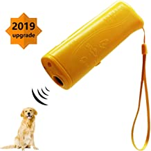 7Mohugme LED Ultrasonic Dog Repeller and Trainer Device 3 in 1 Anti Barking Stop Bark Handheld Dog Training Device