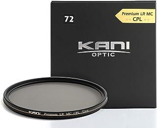 【KANI】Premium LR MC CPL ultra slim PLフィルター 偏光フィルター レンズフィルター (72mm)
