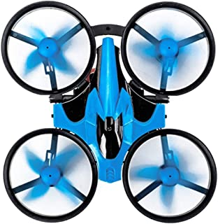 Flip Kids Drone,2.4G 3 in 1 Remote Control Car Flying Drone/Land Driving Boat/360° Rotating And Shinning LED Lights/Mini D...