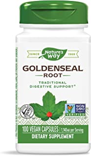 Nature'S Way - Goldenseal Root 570 Mg. 100 Vegetarian Capsules