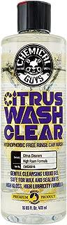 Chemical Guys CWS30316 Car (Citrus Wash Clear Hydrophobic Free Rinse), 16. Fluid_Ounces