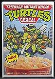 Teenage Mutant Ninja Turtles Cereal Box Refrigerator Magnet.