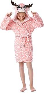 CUBBOT Easter Kids Robe Girls Bathrobe Boys Pajamas Christmas Cosplay Critter Animal Hooded Plush Sleepwear Gifts for kids