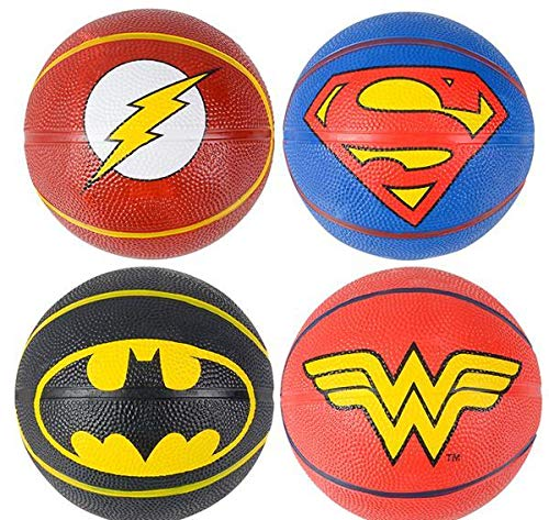Learn More About DollarItemDirect 5 inches Justice League Logo Micro Basketball Kit