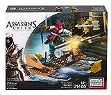 Assassin's Creed - Mega Bloks artillería Naval, Juego de construcción (Mattel CNG11)