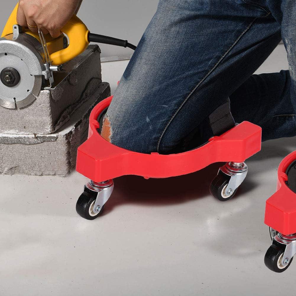 #2 Fdit Las Rodilleras deslizantes multifuncionales Son convenientes para Que Las Ruedas universales Que ahorran Trabajo muevan la carpinter/ía de Rodillas Padsthick Kneeling Pad
