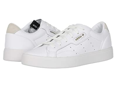 adidas Originals Sleek (Footwear White/Footwear White/Crystal White) Women