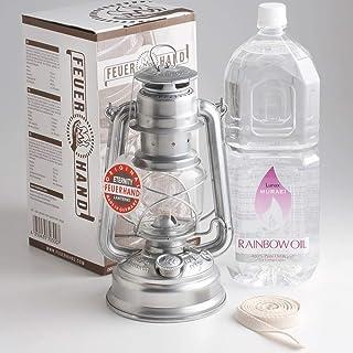 Feuer Hand Lantern ハリケーンランタン ドイツ製 芯1m+レインボーオイル2L 正規輸入 276 ETERNITY