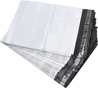 PinShion 宅配ビニール袋 梱包 配送用 強力テープ付き 38.1x48.3cm【100枚】