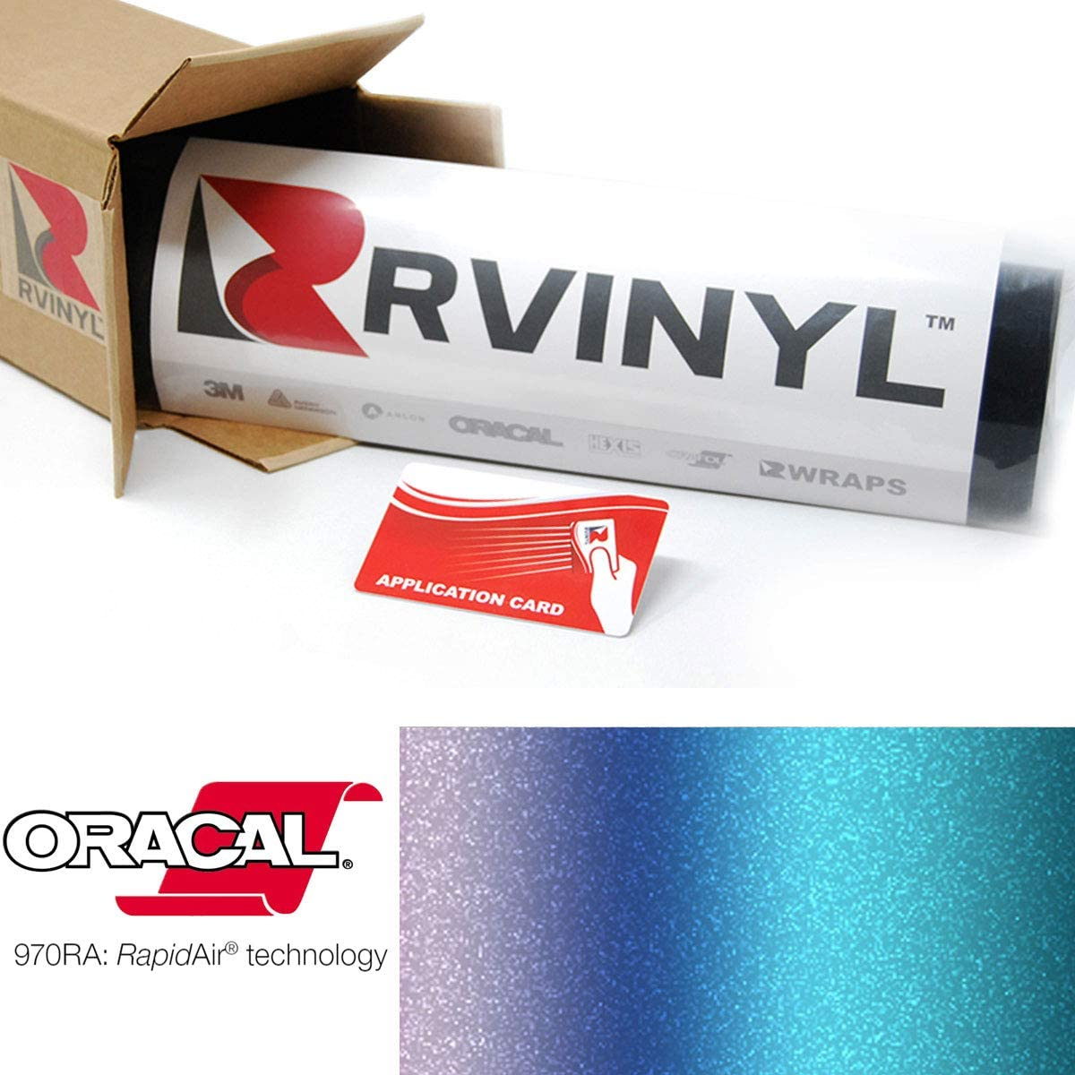 ORACAL 970RA Shift Effect It is very popular Matte Turquoise Lavender 989M NEW before selling Wrapping