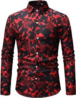 N\P Hombre Express Amazon Casual - Camisa grande para hombre