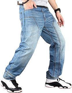 Cartoden メンズ デニムパンツ ゆったり ジーンズ バギーパンツ 極太 カーゴパンツ 大きいサイズ ヒップホップ お兄系