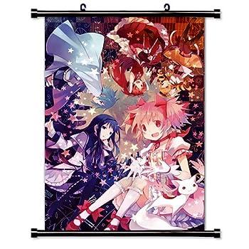 Mahou Shoujo Madoka Magica Anime Fabric Wall Scroll Poster  16  X 24   Inches