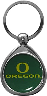 Siskiyou NCAA Oregon Ducks Key Chain, Metal/Chrome