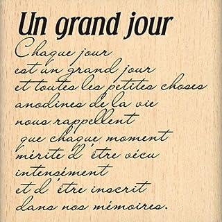 Florilèges Design FE212019 Tampon Scrapbooking Un Grand Jour, Beige
