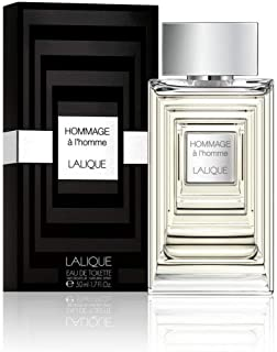 Lalique Hommage a lHomme - perfume for men, 50 ml - EDT Spray
